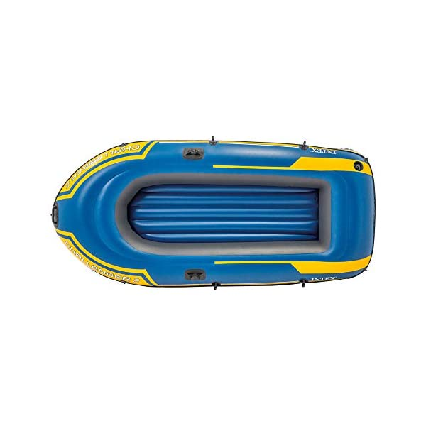 Intex Challenger Inflatable Boat Set with Oars + Inflator