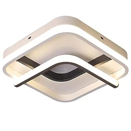 Lianye Plafoniere moderne a LED, Lampada da soffitto a LED a luce bianca calda 3500K per soggiorno corridoio corridoio, lampada da soffitto per interni 28W