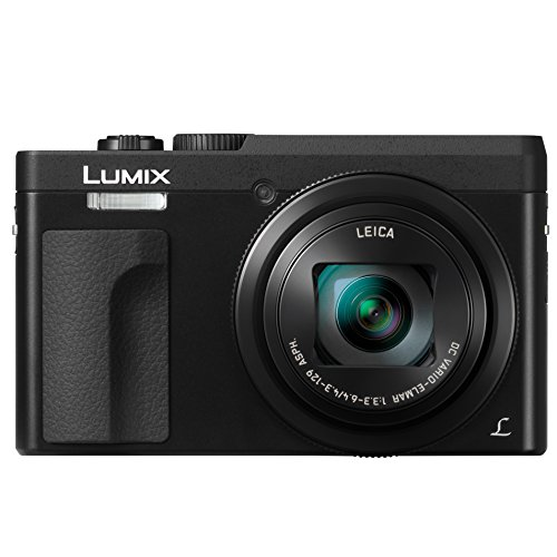 Panasonic LUMIX DC-ZS70K, 20.3 Megapixel, 4K Digital Camera, Touch Enabled 3-inch 180 Degree Flip-front Display, 30X LEICA DC VARIO-ELMAR Lens, WiFi (Black)
