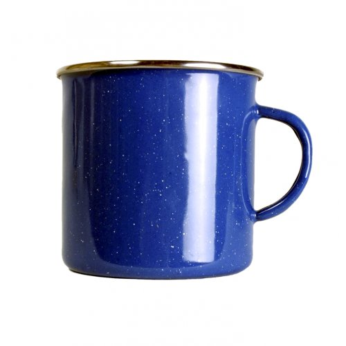 Relags Emaille Tasse, blau, 360 ml