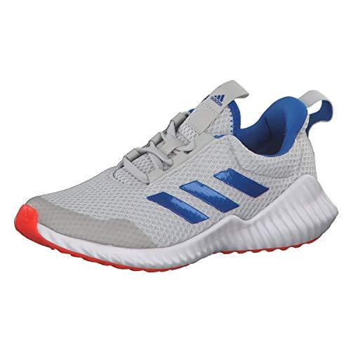 adidas Fortarun Gymnastikschuh, Greone/Globlu/Solred, 35 2/3 EU