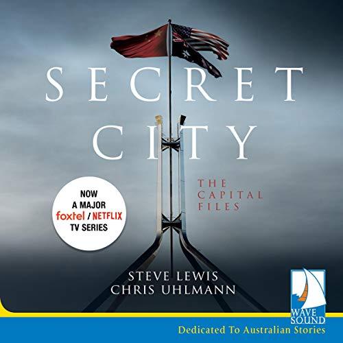 Secret City audiobook cover art