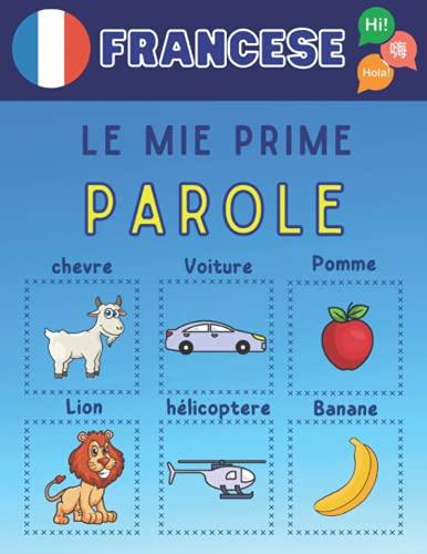le mie prime parole in francese: Impara il vocabolario francese di base con bellissime immagini colorate per imparare la lingua francese per bambini e adulti