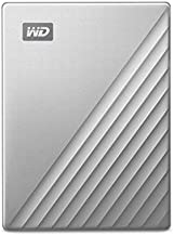 WD2TB MyPassportUltrafor Mac Silver Portable External Hard Drive, USB-C - WDBKYJ0020BSL-WESN