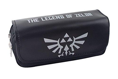 YOURNELO The Legend of Zelda - Estuche multifuncional con cremallera, diseño de la leyenda de Zelda