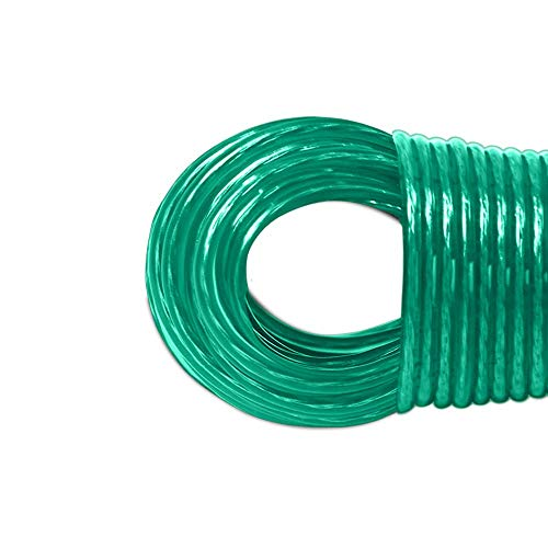 LaundrySpecialist® Cuerda DE Tender Ropa de 35 Metros con núcleo de Acero – más Resistente y más Larga