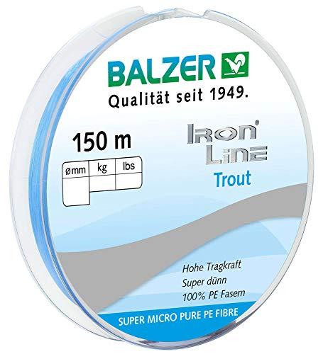 Balzer - Nylon-Angelschnüre in Blau, Größe 0.04mm / 2.8kg