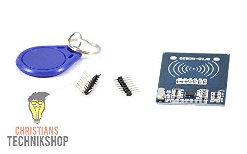 RFID RC-522 Kartenleser Transponder Modul für Arduino, Raspberry Pi, etc | Christian's Technikshop
