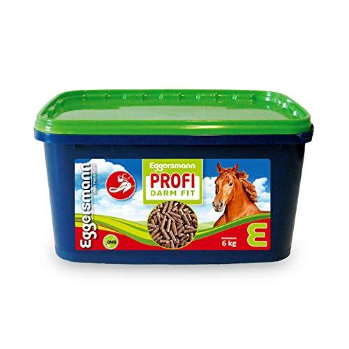 Eggersmann Profi Darm Fit – Ergänzungsfuttermittel für Pferde – Zur Verminderung von Kotwasser – 6 kg Eimer