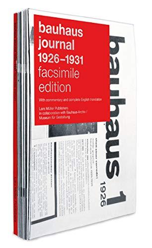 bauhaus journal 1926 - 1931: Facsimile Edition