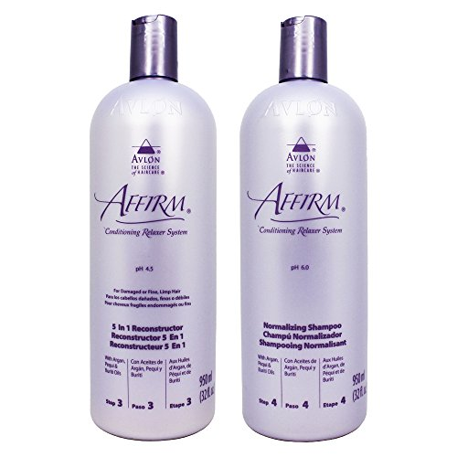 Avlon Affirm 5 In 1 Reconstructor 32 Ounce + Normalizing Shampoo 32...