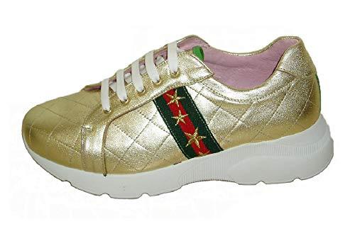 Vitelo 8291, Zapato Casual Piel Platino Cordones, Plantilla extráible