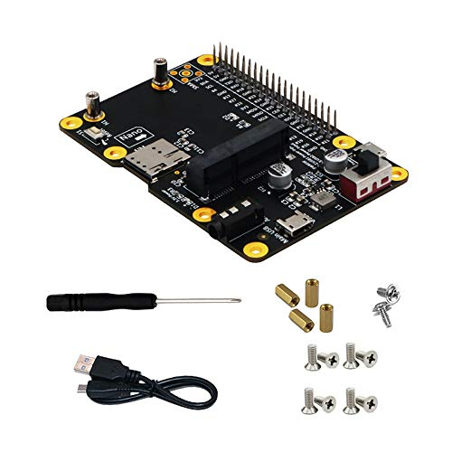 Cimoto 3G/4G & LTE Base HAT to USB Riser Card for Raspberry/Tinker Board/ARTIK/Rock64 Media/Liber Computer Board