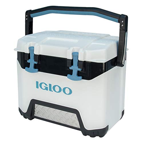 Igloo BMX 25 Quart Cooler with Cool Riser Technology, White