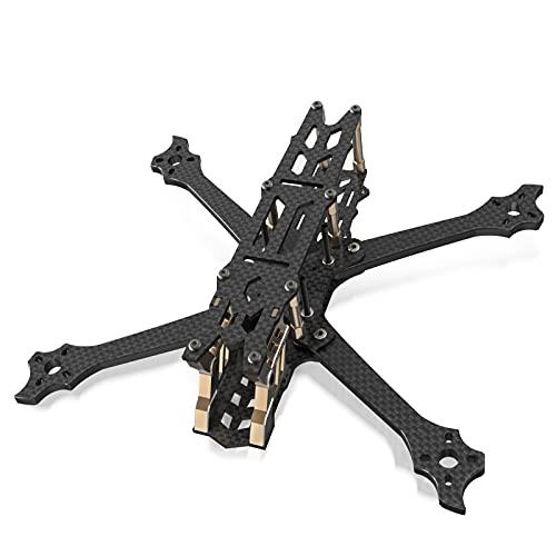 SpeedyBee FPV Drone Frame 5 Inch True X 225mm Carbon Fiber Quad Frame Kit for Freestyle Racing DJI -V2 Edition