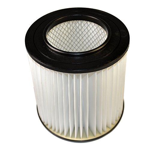 HQRP 7' Filter for Dirt Devil CV2200, CV1500, CV950, CV2000, CV2400, CV2250, CV2600, CV2650, CV1800, CV1850 H-P Central Vacuum Systems, 8106-01 Replacement Coaster
