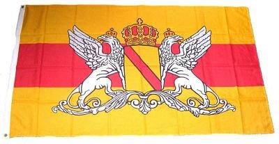 Flaggenking Großherzogtum Baden Neu - Flagge/Fahne - Wetterfest, mehrfarbig, 250 x 150 x 1 cm