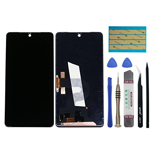swark LCD Display Compatible with Essential PH-1 5.71' Digitizer Touch Screen Assembly Replacement (Black) + Tools