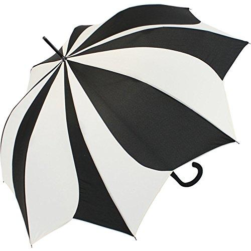 Pierre Cardin Parapluie pour femme grand et stable avec mécanisme automatique - Sunflower