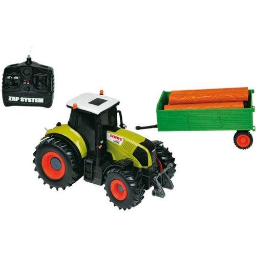 Unbekannt ferngesteuerter Traktor R/C Funktraktor Claas Axion 850 mit Anhänger*