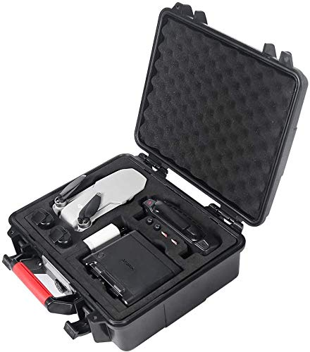 Smatree Estuche rígido Resistente al Agua Compatible con dji Mavic Mini y estación de Carga de batería/concentrador de Carga (el dron y los Accesorios no están incluidos)