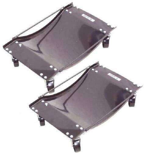 D+L 4X Rangierhilfe für PKW Auto Rangierroller Rangierheber Wagenheber Roller 2 Paar Satz = 4 Rangierroller 1800kg Rangierhilfe PKWs PKW Rangierheber 06161 AWZ