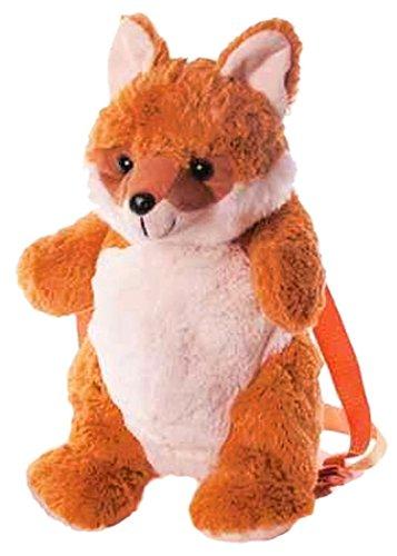 Inware 6388 - Mochila infantil, diseño de zorro, color marrón y blanco