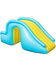 Nrkin Centro de agua hinchable, centro de juegos hinchable, tobogán para piscinas subterráneas, tobogán hinchable para piscina, tobogán hinchable para niños Jedingen.