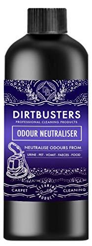 Dirtbusters - Neutralizzatore professionale di odori e urina, elimina i cattivi odori. Rimozione dell'odore di urina di cani e gatti, con soluzione deodorante enzimatica riattivante, 1 litro