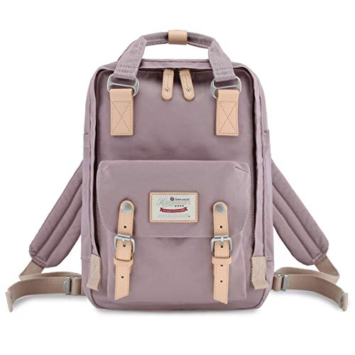 himawari School Waterproof Backpack 14.9' College Vintage Travel Bag for Women,14 inch Laptop for Student (HM-41#)