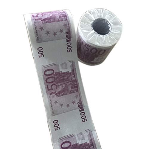 AOWA Rouleau de Papier Toilette Humoristique pour Billets de Banque