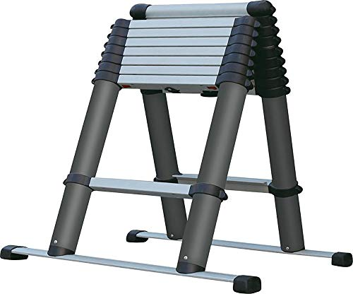 EZSTEP 223000 - Escalera de Aluminio EVO-PROSTEP 0,74 - 2,3 m, 6 + 2 peldaños,...