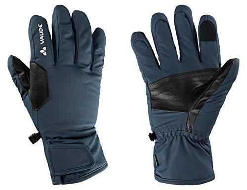 VAUDE Gants Roga Gloves III unisexes. XXL Bleu acier