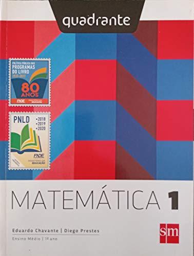 Quadrante Matemática 1 Edição 2018
