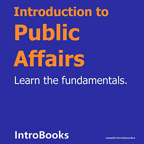Introduction to Public Affairs cover art