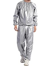 WBTY Sauna Suit,Heavy Duty Sweat Suit Sauna Oefening Gym Suit Fitness Gewichtsverlies Training Anti-Rip
