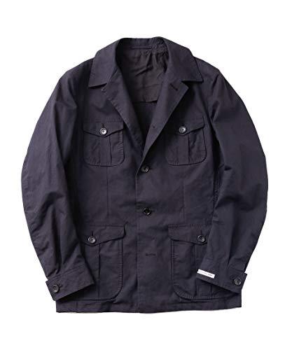 [ナノユニバース] RING JACKET リングジャケット ジャケット 別注 サファリ ブルゾン メンズ 48 ブラック