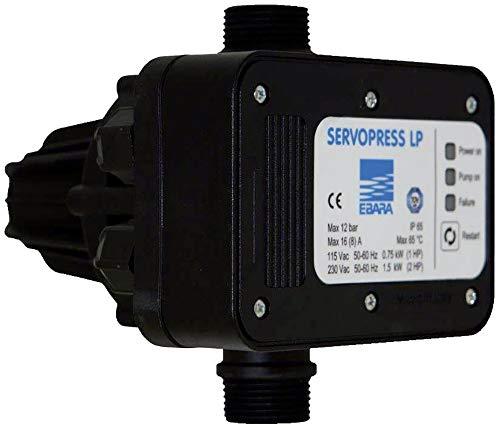 Ebara SERVOPRESS LP Wasser-Druckschalter 1.5 bis 12 bar 230 V