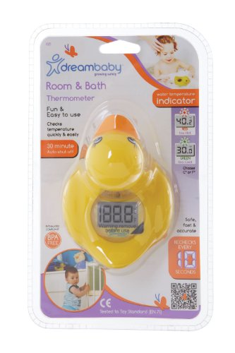 Dreambaby Room and Bath Thermometer - Yellow Duck