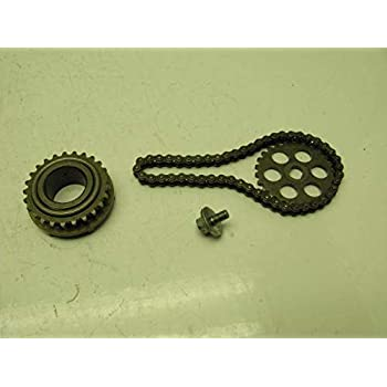 CARBEX Oil Pump Drive Chain Repl.#Z183 for Honda TRX250 Recon TRX250EX Sportrax