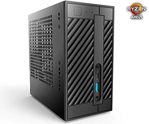 Deskmini A300 Edition mit AMD Ryzen 3200G 4X 3,Ghz, 8GB DDR4 Ram, 480GB SSD, Radeon Vega 8 Grafik, LAN, WLAN, Windows 10 Pro 64Bit