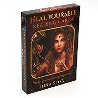 自分を癒す読書カード魂を変える直感的なガイダンス読書カードシリーズゲームタロットカード本セット初心者