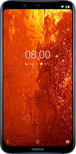 "Nokia 8.1, blu Display 6.4"", 64 GB Espandibili, Dual SIM [Versione Italiana]"