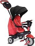 smarTrike 4 en 1 Triciclo bebé (Red)