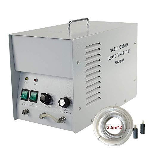 LIUQIGRASS Ozon Wasser- und Luftreiniger Kommerzieller Ozongenerator 8G / H Industrieller Luftreiniger O3 Luftreinigungswasser Sterilisator Lufterfrischer