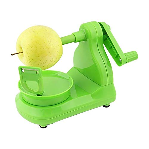 ZSWB Multifunctional Fruit Apple Machine Peeler Slicer Cutter Reusable Bar Home Hand-cranked Clipping Fruit Peeler Kitchen Apple Slicers Corer Cutters Easy Operation And Cleaning 3.4