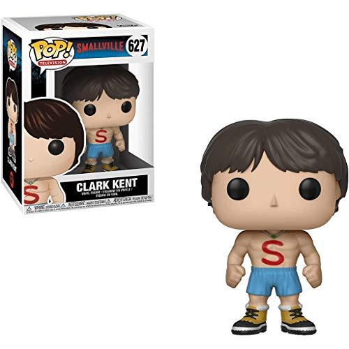FreeStar Funko Pop Television : Smallville - Clark Kent 3.75inch Vinyl Gift for Heros TV Fans Multicolur