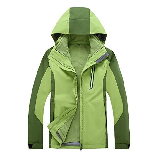 Great Price! Men's Hooded Softshell Waterproof Windproof Windbreaker Mountain Ski Jacket Raincoat Ou...