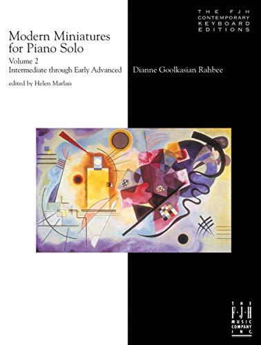 Modern Miniatures for Piano Solo, Vol. 2: Intermediate through Early Advanced