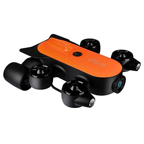 XIAOKEKE 150M/100M Professioneller Unterwasser-Drohnen Roboter Mit 4K-UHD-Action-Kamera-Fernbedienung Echtzeit-Untersee-Erkennung Zum Betrachten, Aufnehmen, Angeln Und Bergungsarbeiten